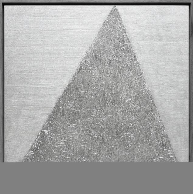 , '-∞·银 Silver ,' 2015, S.O Art Space