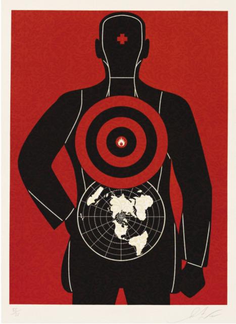 Shepard Fairey (OBEY), 'Global Target', 2012, Toshkova Fine Art Advisory