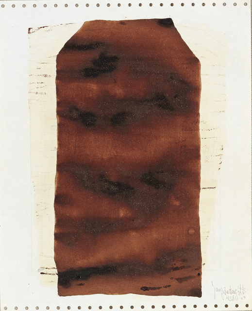 , 'Soy Sauce Drawings 9 酱油画 9,' 1988, Ink Studio