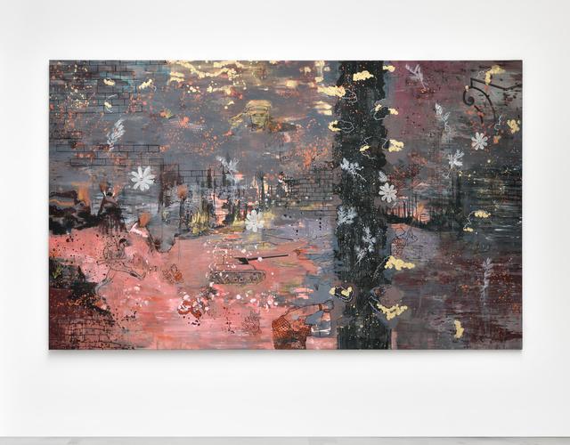 , 'Scène de guerre en studio,' 2017, Galerie Christophe Gaillard