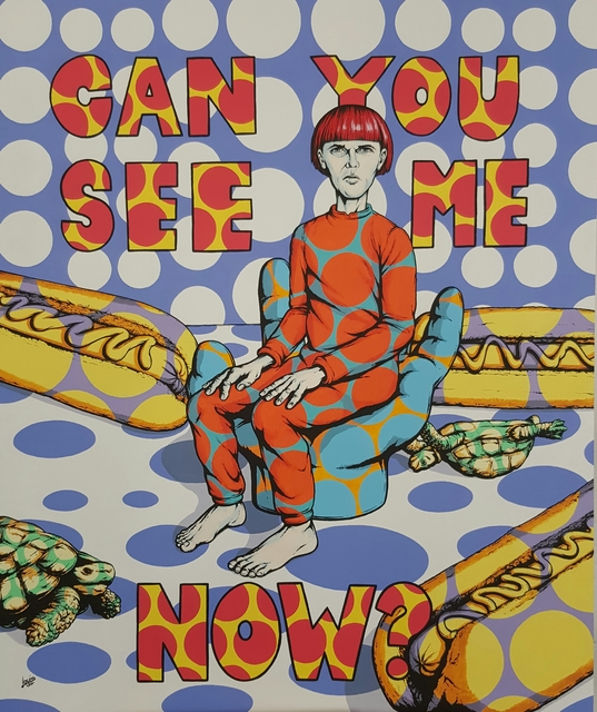 , 'Can you see me now ,' 2017, Art Eye Gallery