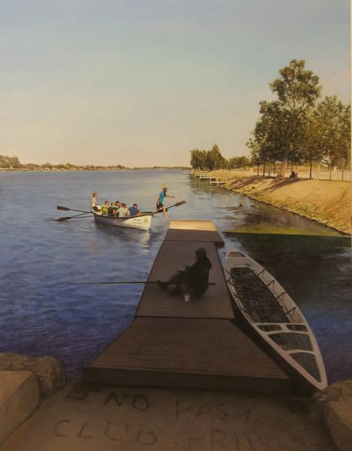 , 'La calma del pescador,' , Sala Parés