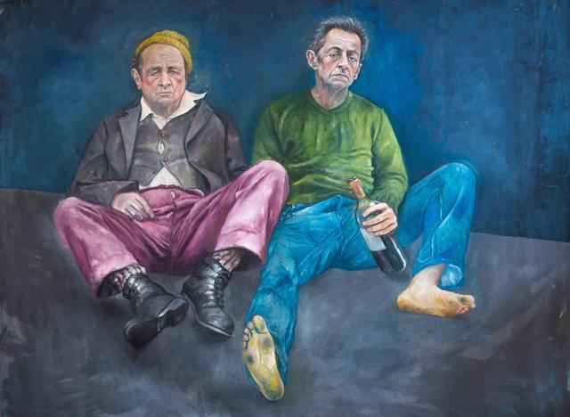 , 'Francois et Nikolas,' 2015, Ayyam Gallery