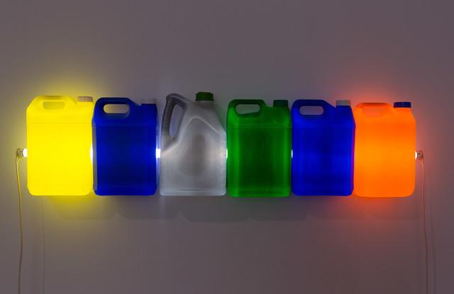 , 'Strait (Yellow Blue Grey Green Blue Orange),' 2015, Roslyn Oxley9 Gallery