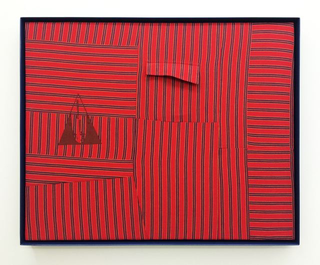 , 'Qui vive* (Be Alert!), Red [*early motto and logo of the Daughters of Bilitis],' 2016, Romer Young Gallery