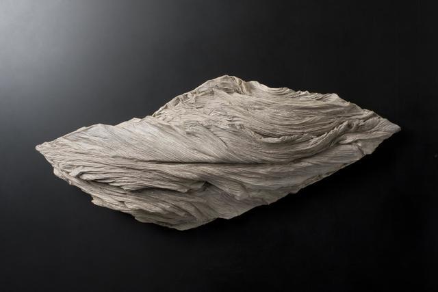 Yoshio Ikezaki, 'The Earth Breathes-15', 2008, Sculpture, Handmade paper, kozo fiber, Japanese watercolor, Kylin Gallery