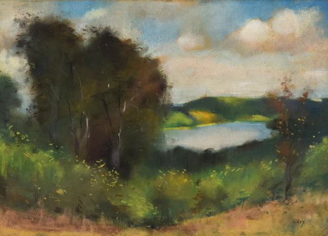 , 'Landscape,' , Stern Pissarro