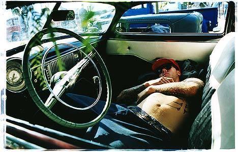 , 'Resting Hot Rod,' 2003, Bleach Box