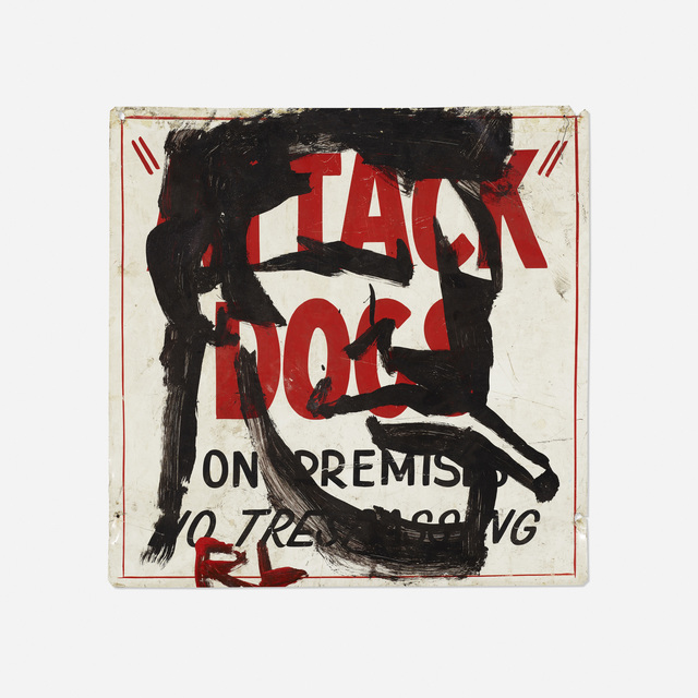Robert Loughlin, 'Untitled (Attack Dog)', Wright