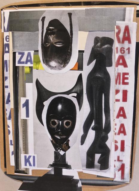 , 'The Intercessors 03,' 2016, EBONY/CURATED