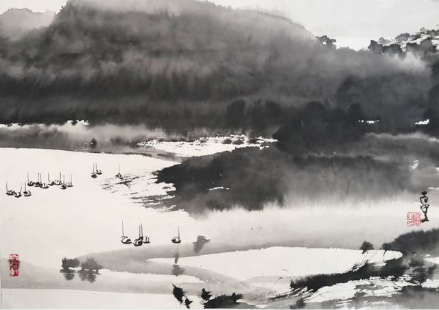 , 'Idyllic Hong Kong 1801-1,' 2018, Galerie Koo