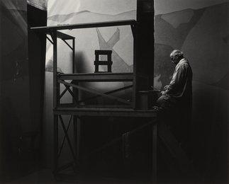 Gottardo Piazzoni in His Studio, San Francisco