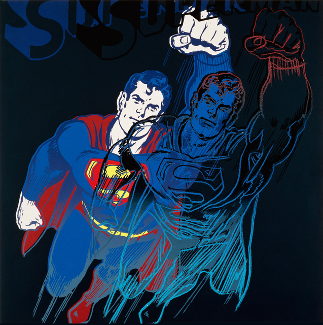 Andy Warhol, 'Superman', 1981, Joseph K. Levene Fine Art, Ltd.