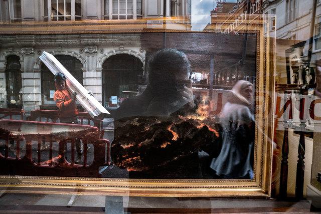 , 'Volcano Watching - London UK,' 2017, The Schoolhouse Gallery