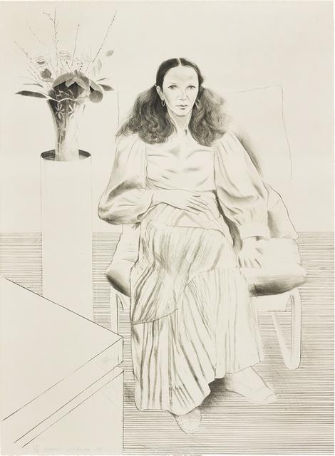 David Hockney, 'Brooke Hopper, from Friends', 1976, Phillips