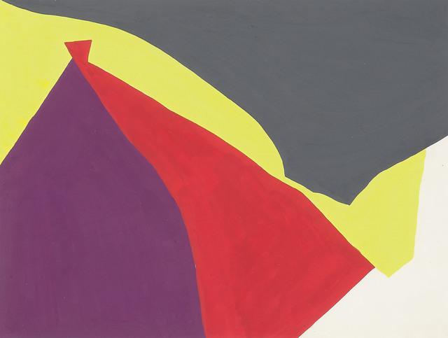 Equipo 57, 'Cinema interactivity', 1957, Painting, Gouache/paper, Galería Marita Segovia
