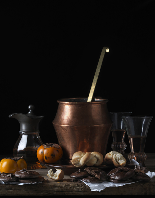 , 'Still Life with Bread and Chocolate, after L.M.,' 2014, Robert Mann Gallery