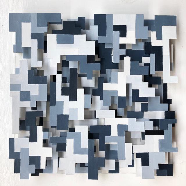 , 'Data Field II,' 2018, InLiquid