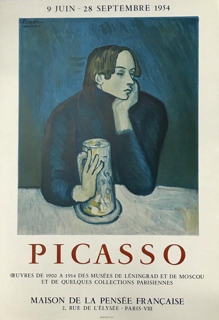 Pablo Picasso, 'Picasso ', 1954, Print, Lithograph poster, Artioli Findlay