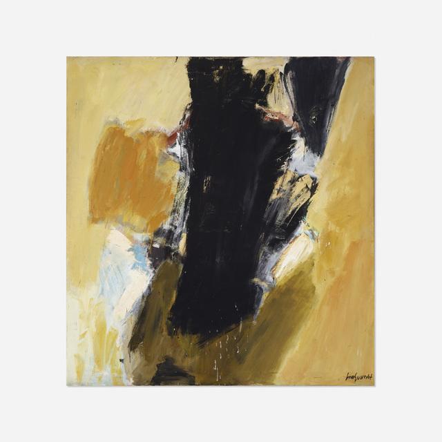 José Guerrero (b. 1914), 'Untitled', c. 1960, Rago/Wright