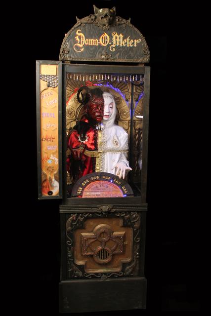 , 'Damn-O-Meter,' 2010, Gregorio Escalante Gallery