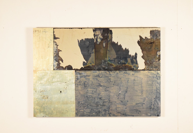 , 'Extra Gold,' 2017, Galleria Massimo Minini