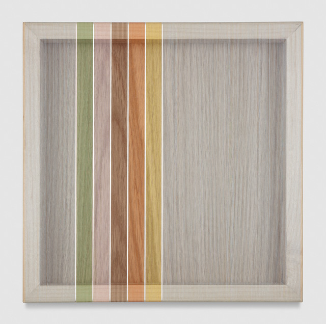 , 'Untitled (Light Blue Hovering Thread),' 2017, PRAZ-DELAVALLADE