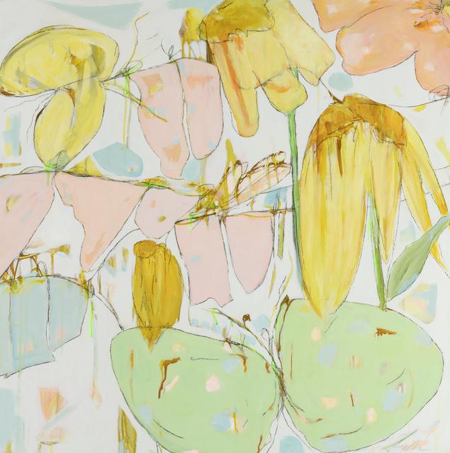 Teresa Roche, 'Scavenger Hunt in the Garden ', 2020, Painting, Mixed media on panel, Miller Gallery Charleston