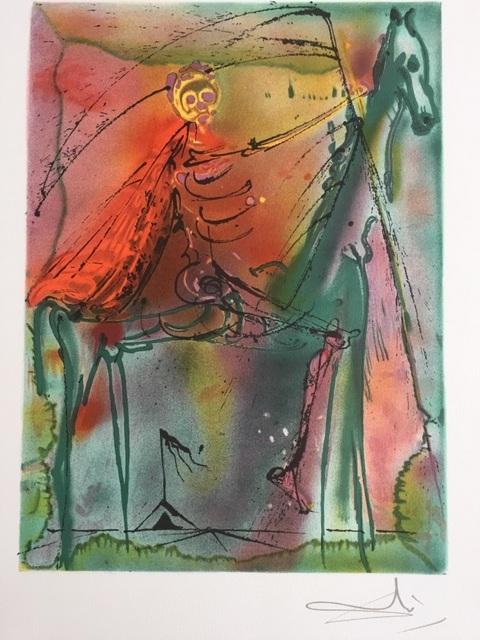 Salvador Dalí, 'Le cheval de la mort', 1983, ByNewArt