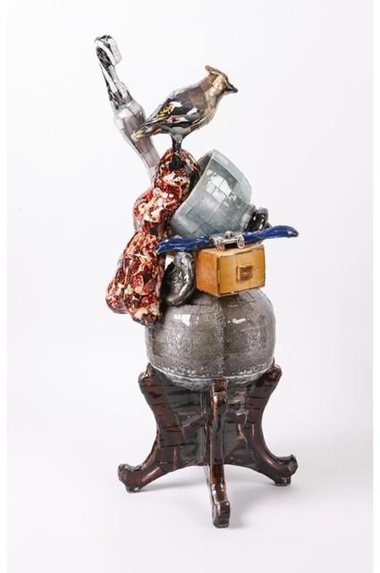 , 'Waxing bird & Umbrella,' 2014, Arario Gallery