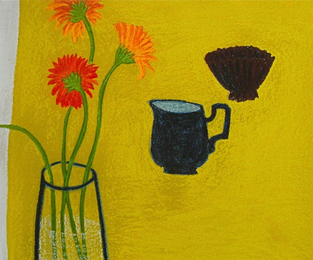 , 'Yellow Table ,' 2012, Susan Eley Fine Art