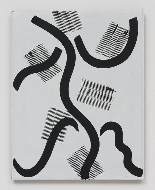 , 'Untitled (5 Strokes),' 2013, Roberts & Tilton
