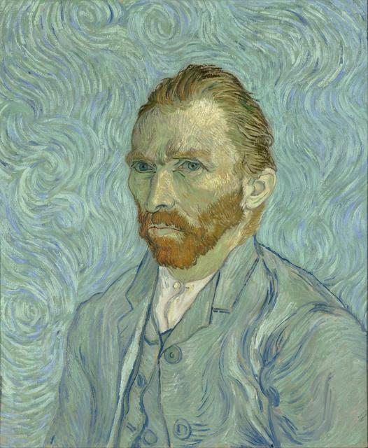 Vincent van Gogh, 'Self-Portrait,' 1889, Musée d'Orsay