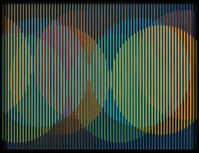 Carlos Cruz-Diez, 'Cromointerferencia Espacial 13', 2015, Opera Gallery