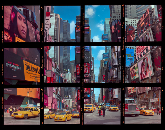 William Furniss, 'Times Square Contact #2 ', 2016, Van Rensburg Galleries