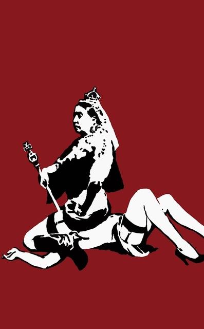 Banksy, 'Queen Victoria', 2003, Rhodes