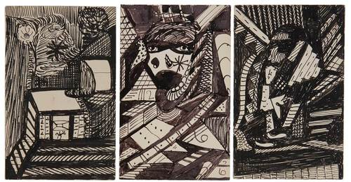 Group of Three Works, circa