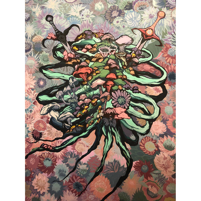 , 'In Bloom,' 2017-2019, Gallery 30 South