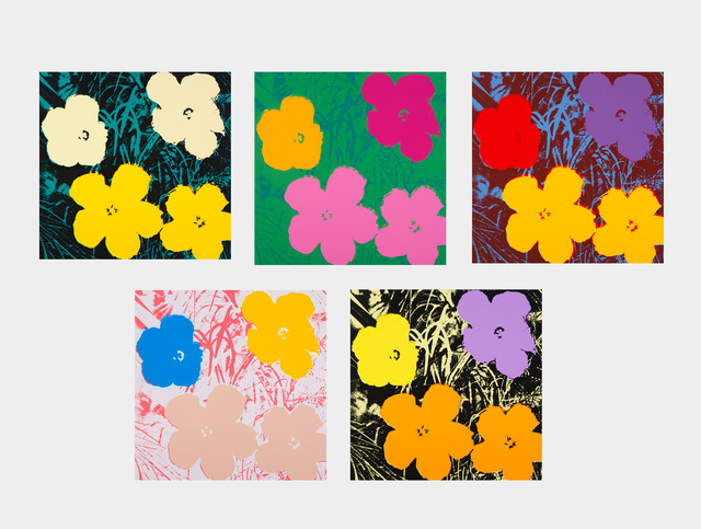 Andy Warhol, 'Sunday B Morning - Flowers', Julien's Auctions