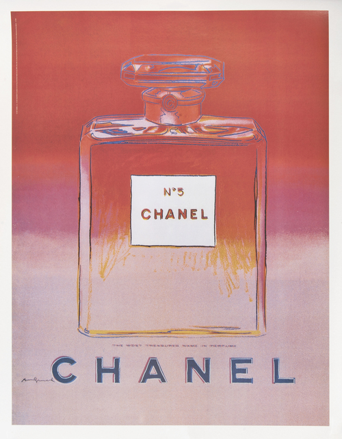 Andy Warhol, 'Chanel No.5', 1997, Print, A complete set of four offset lithographs on linen back, Tate Ward Auctions