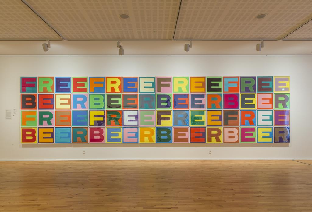 SUPERFLEX, 'FREE BEER', 2007, Print, Photogravure, OMR