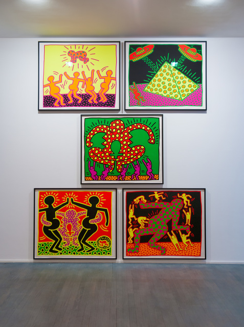 Keith Haring, 'Fertility Series', 1983, PLUTSCHOW GALLERY