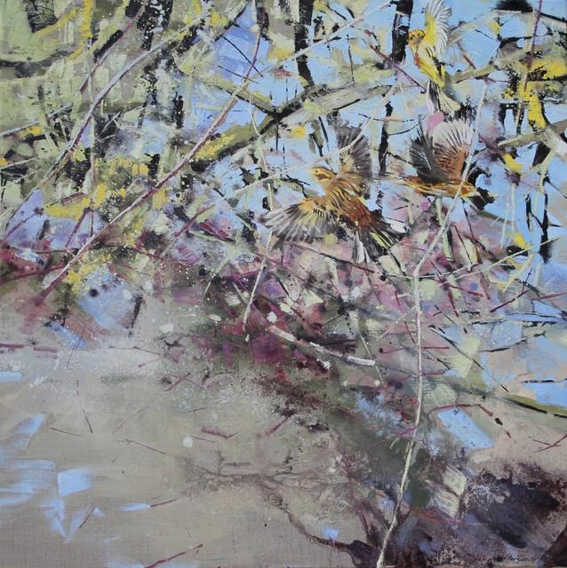, 'Yellowhammers,' 2018, Sarah Wiseman Gallery