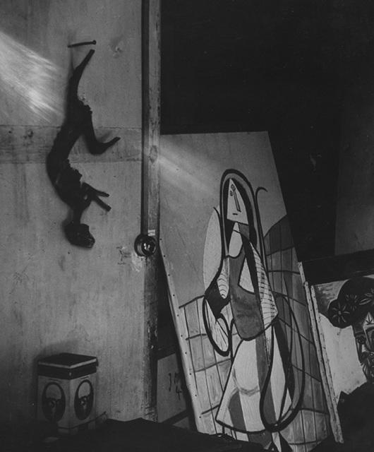 , 'Atelier Picasso,' Paris 1944, Johannes Faber