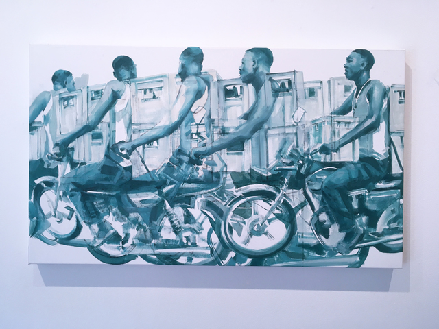 RU8ICON1, 'People On The Move 3', 2019, Deep Space Gallery