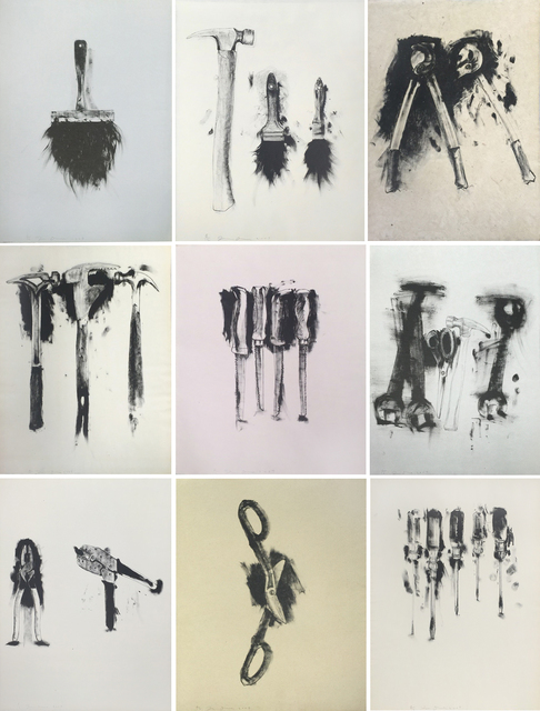 , 'Untitled (folio of 9 tool prints),' , Zane Bennett Contemporary Art