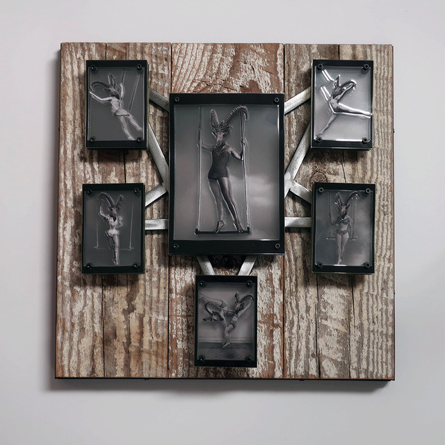 , 'The Trapeze & Her Minions,' 2018, Asher Grey Gallery