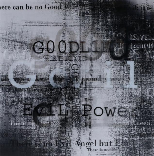, 'Good + Evil = Void (X1),' 2012, Galerie Pascal Janssens