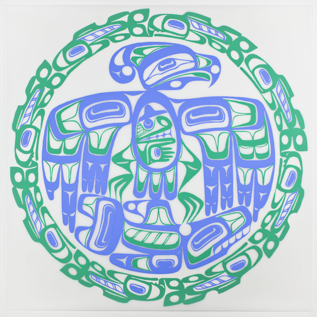 , 'Inuit Eagle,' 2013, Erin Cluley Gallery