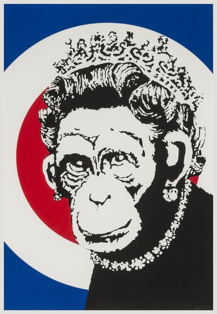 Banksy, 'Monkey Queen', 2004, Forum Auctions